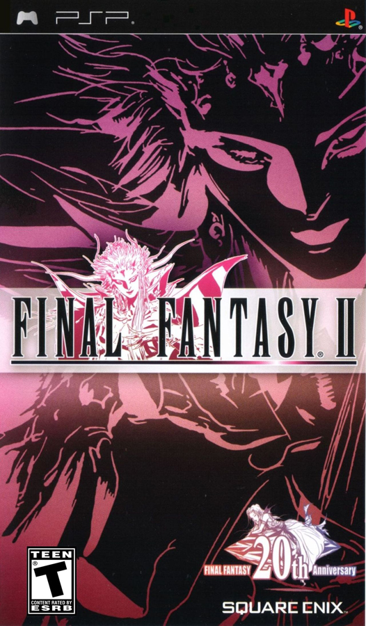 final fantasy ii psp cover
