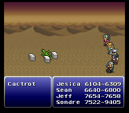 final fantasy vi advance cactuar