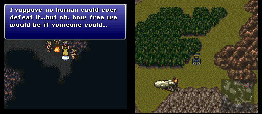 final fantasy vi dinosaur forest