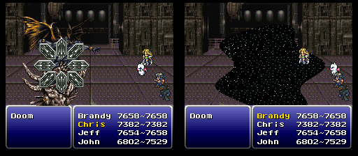 final fantasy vi vanish/x-zone trick