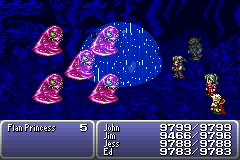 final fantasy vi advance dragon's den flan princess