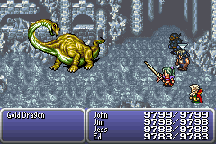 final fantasy vi advance dragon's den gold dragon