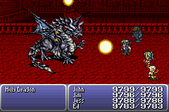 final fantasy vi advance dragon's den holy dragon