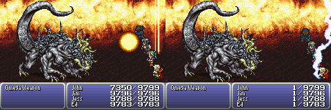 final fantasy vi advance boss omega weapon