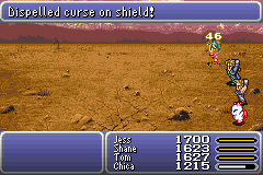 final fantasy vi advance lifing the shield's curse