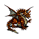 final fantasy vi advance dragon's den boss red dragon