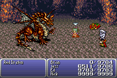 final fantasy vi advance boss red dragon