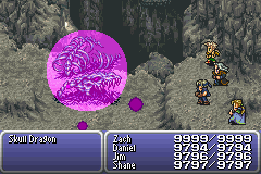 final fantasy vi advance dragon's den skull dragon