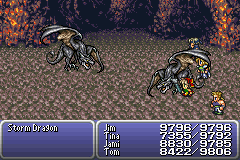 final fantasy vi advance boss storm dragon
