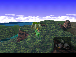 final fantasy vii ancient forest screen