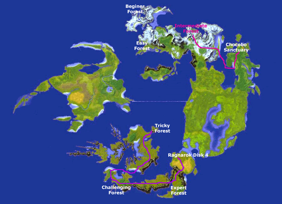 Final Fantasy Viii Chocobo Forests