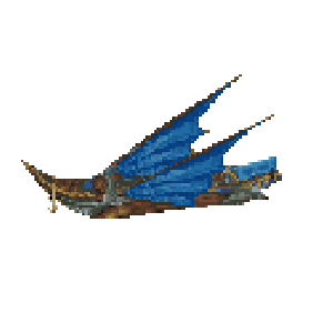 final fantasy ix transportation blue narciss